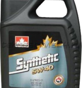 petro canada synthetic 5w40 5л
