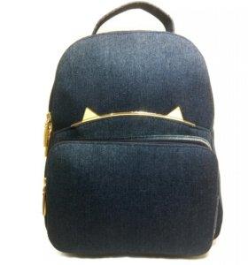Женский сумка рюкзак с ушками