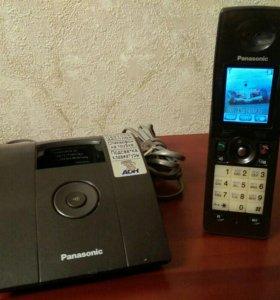 Радиотелефон Panasonic KX-TCD805RU + новые аккум.