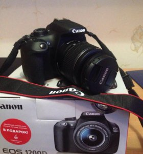 Canon 1200 зеркальный фотоаппарат