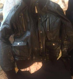 Куртка кожаная женская 42-44