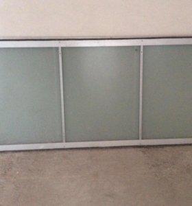 Двери стеклянные для шкафа купе