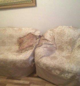 Мебель мягкая (тройка)