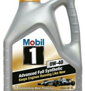 Моторное масло Mobil 1 0w-40 4л.