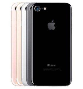 Айфон 7 32 Гига матовый чёрный