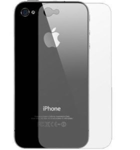 Пленка зеркальная на заднюю панель для iPhone 4/4S