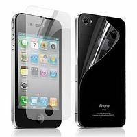 Пленка матовая на заднюю панель для iPhone 4/4S