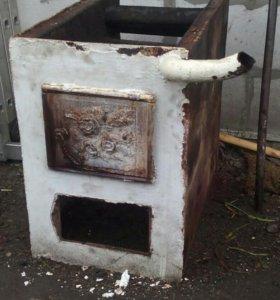 Печь водяного отопления.