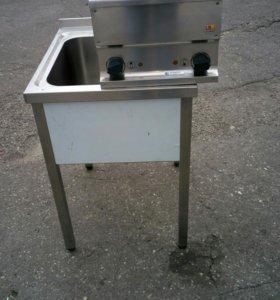 Эл плита промышленная kovinastroj es-40+ мойка