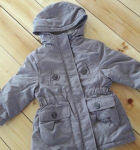 Куртка и шапка  4-5 лет