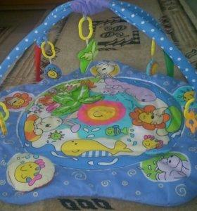 Детский развивающий коврик.