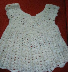 Платьице для маленькой девочки,возраст от 0 до год