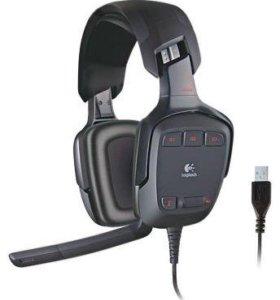 Наушники Logitech G35 с микрофоном
