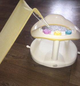 Набор для малыша 5шт стульчик для купания и др