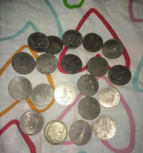 Монеты СССР олимпийские
