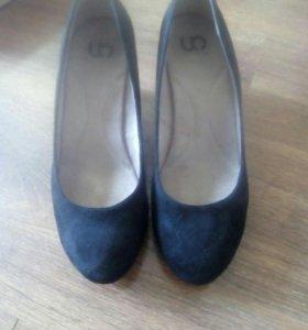 Туфли новые замш!