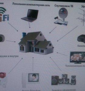 Работы по ВОЛС и медным сетям связи