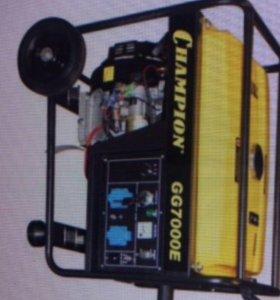Генератор бензиновый Champion 5 кВт GG7000E ATS