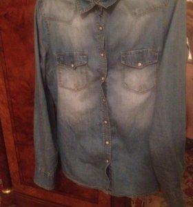 Джинсовая рубашка Колинс