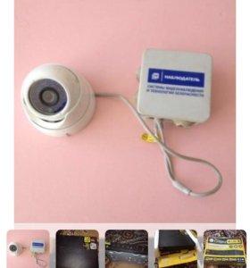 4- канальная видеокамера