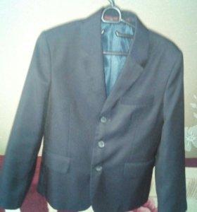 Пиджак школьный мужской