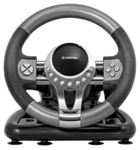 Игровой руль для пк  Defender