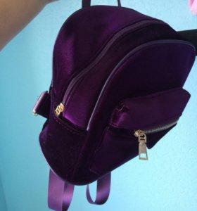 Рюкзак из велюра