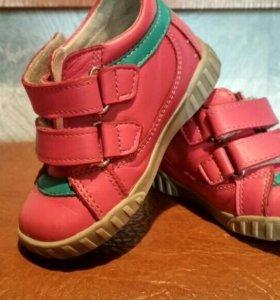 Детские туфли для девочки р.21-22