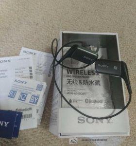 Спортивные наушники Bluetooth Sony MDR-AS600BT