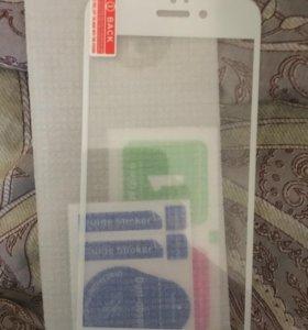 Защитное стекло на айфоны 6,6s