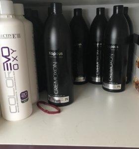 Краска и шампуни для волос