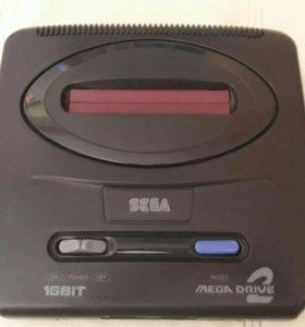 Приставка Sega Mega drive2