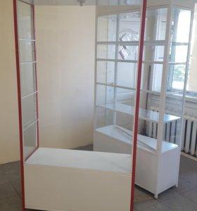 Стеклянный шкаф - витрина