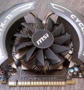 видеокарта MSI GeForce GTX 550 Ti CYCLONE II