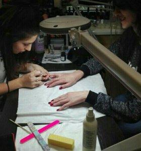 Курсы маникюр, педикюр, наращивание ногтей гель
