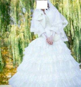 """Свадебное платье """"шампань"""""""