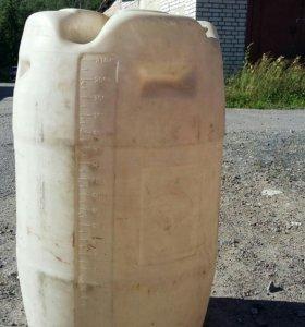 Бочка пластик. 210 литров. Б/у