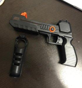 Пистолет для PlayStation 3 Move с креплением Navigation controller