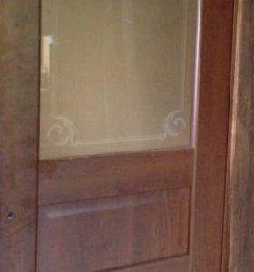 Дверь из массива межкомнатная Волховец