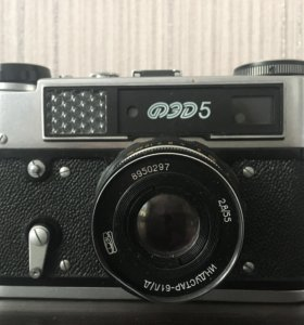 Фотоаппарат СССР