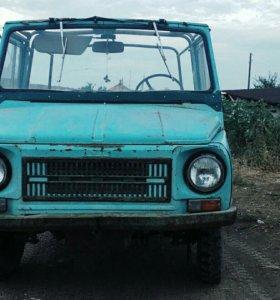 ЛУАЗ 969, 1.3 МТ, 1990, пикап