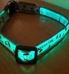 Продам Ошейник светящийся с USB для собак