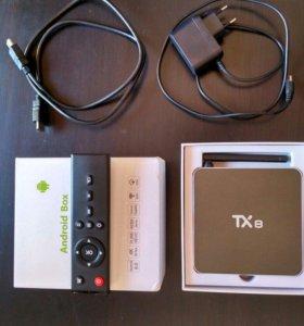 Приставка TV Box TX8