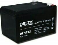 Аккумулятор дельта дт 12в 12 ач