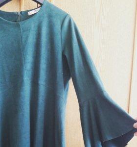 Платье(Mango,замшевое)