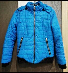 Продам кожаную куртку и осеннюю куртку