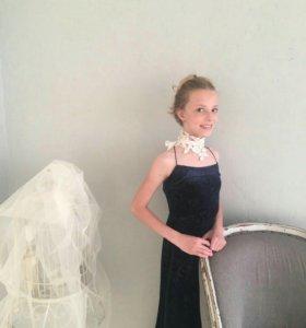 Вечернее платье с жакетом