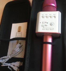 Микрофон караоке (розовый)