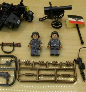 Военные фигурки немцев
