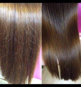 Проффисианальная полировка волос